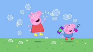 il successo peppa pig maialino rosa sorridente che impara