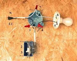 double pole switch wiring diagram electrical endear single ansis me