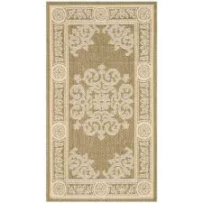 Floral Outdoor Rug Green Floral Outdoor Rugs Rugs The Home Depot