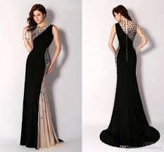 gown designs newest black high neck evening dresses sleeve one shoulder