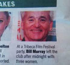 Bill Murray Memes - 15 reasons why bill murray is awesome party bill guff