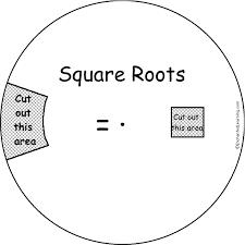 square root wheel printable worksheet enchantedlearning com