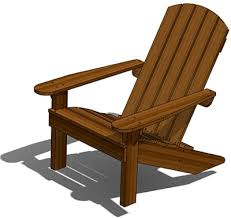 Adirondack Chairs Blueprints Adirondack Deck Chair Outdoor Wood Plans Download