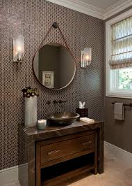 Brown Wall Sconces Brown Candle Wall Sconces Powder Room Contemporary With Table