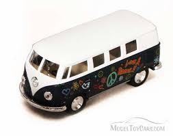model car toy 1 32 1962 volkswagen classic bus w decals 5060df 1 32 scale kinsmart