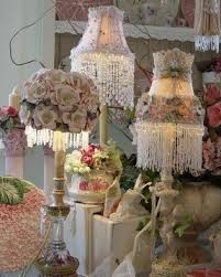 Chandelier Lamp Shades With Beads Victorian Beaded Lamp Shades Foter