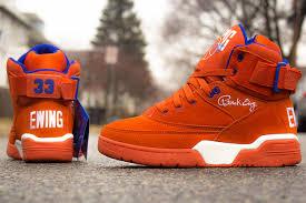 sneaker closet ewing athletics 33 hi orange suede tsl