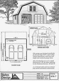 Gambrel Roof Garages by Plan Examples Garage Plans 676 7 2 Car With Gambrel Attic Truss