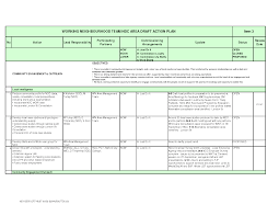 Microsoft Business Plan Templates Individual Action Plan Template Performance Evaluation Forms Free