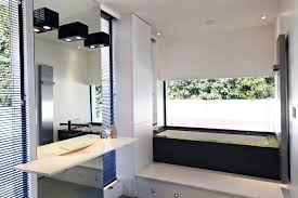 bronze bathroom vanity mirrors make a focal point with bathroom