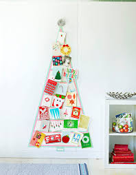 diy washi tape christmas card tree diycandy com