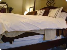 Can I Bleach A Down Comforter How To Make A Bed From Thrifty Decor