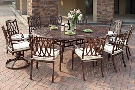 Aluminum Cast Patio Dining Sets Patio Glamorous Outdoor Furniture Clearance For Attractive