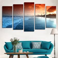 sea home decor online shop no frame wall modular tableau picture canvas art