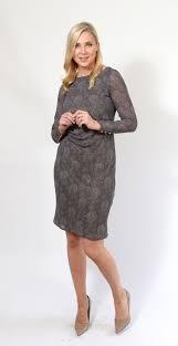 pattern a line shift dress grey empire line shift dress golden stitch