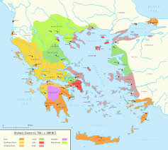 Ancient Greece Maps by Archaic Greece C 750 C 500 Bc By Undevicesimus On Deviantart