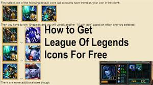 halloween icons free league of legends how to get free icons for winning league of