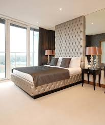 Floor To Ceiling Headboard Luxurious Designer High Bed Or Headboard Juliettes Interiors