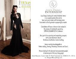 Fashion Model Resume Fashion Design Blog Lucy Dang 2013 Spring Summer Internship
