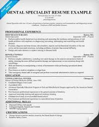 dental hygienist resume modern fonts exles dental specialist resume sle dentist health resumecompanion