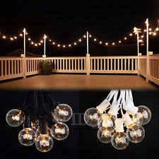 outdoor bulb string lights outdoor string lights ebay