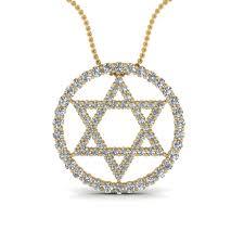 religious pendants yellow gold white diamond religious pendant in prong
