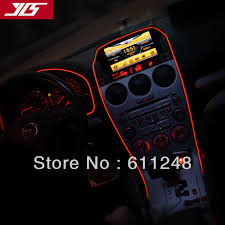 Lights For Car Interior Aliexpress Com Buy Free Shipping Auto El Cold Light Atmosphere