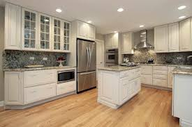 Glass Cabinets In Kitchen White Glass Cabinet Kitchen Wall Units With Glass Doors Rustic