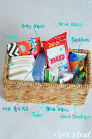 Travel Gift Basket Mommy U0026 Toddler Travel Car Kit U0027s U0026 What To Pack