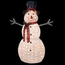 Light Up Snowman Outdoor Snowman Christmas Yard Decorations Outdoor Christmas