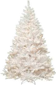 pre lit 7 5 faux pine tree in white reviews joss