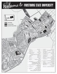 Map Student Login Parking Frostburg State University