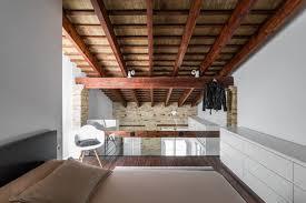 chambre en mezzanine loft avec chambre mezzanine