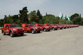 mazda motor europe 35 greek communities get mazda bt 50 quick response fire units