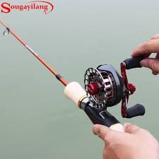 ultra light rod and reel sougayilang new ice fishing rod set ultra light winter carbon mini