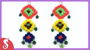 Parrot Decorations Home by Woolen Wall Hanging For Home Decor Youtube