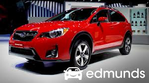red subaru crosstrek 2017 subaru crosstrek review features rundown edmunds youtube
