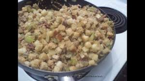 easy stuffing recipes for thanksgiving easy stuffing recipe with croutons youtube