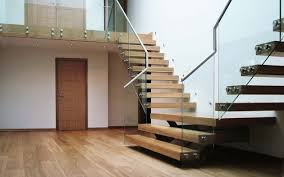 Glass Staircase Design Fascinating Wood U0026 Glass Staircase Designs For Elegant Home