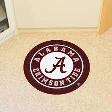 Alabama Crimson Tide Home Decor by Of Alabama Crimson Tide Logo Roundel Mat 27