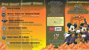 scary halloween party invitations mickey u0027s not so scary halloween party 2011 all ears guest blog