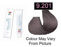hair color 201 nouvelle permanent hair color 9 201 silver moon 100ml