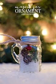 mini jar ornaments clean and scentsible
