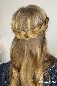 getting fullness on the hair crown 6 hairstyles that take 5 minutes or less her cus