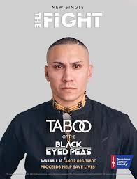 taboo talks battle with cancer billboard