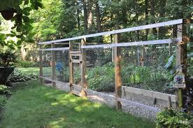 backyard vegetable garden fence u2013 home design and decorating