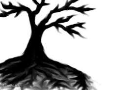 black tree a still speedpaint drawing by malpeet queeky