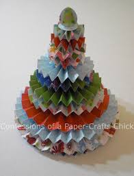confessions of a paper crafts rosette christmas tree won