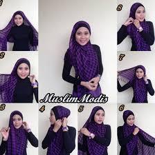 tutorial hijab pashmina untuk anak sekolah tips memakai jilbab segi empat terlihat cantik alami