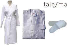 robe de chambre pour spa tuango 39 99 pour un ensemble de peignoir de bain et de pantoufles